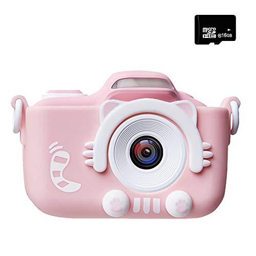 子供用 デジタルカメラ トイカメラ 子供用カメラ 自撮可能 2000万画素 2インチ IPS画面 4倍ズーム 子供プレゼント ミニカメラ 16G容量SDカード 日本語説明書付き