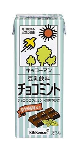 豆乳飲料 チョコミント 紙パック 200ml ×18本