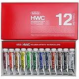 ホルベイン  透明水彩絵具 12色セット W401 5ml(2号)
