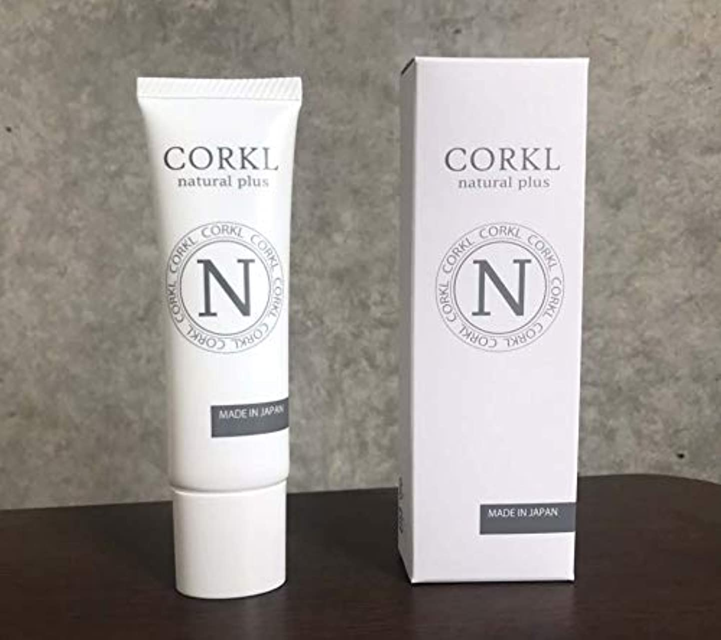 中庭解説支配的コルクルナチュルクリーム(CORKL)手汗?顔汗に悩む方向けに開発された国産化粧品