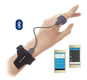 リングO2(リングオーツー) スマートパルスオキシメータ 国内医療機器認証取得 【スマホアプリ付 長時間装着&記録】 酸素飽和度 睡眠時無呼吸 バイブレーション機能付