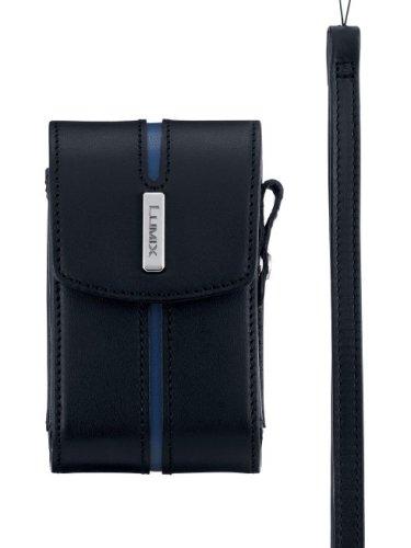 Panasonic デジタルカメラ 本革ケース ブラック DMW-CX100-K