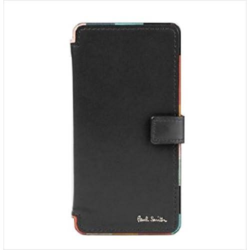 ポールスミス Paul Smith メンズ 財布 長財布 アーティスト ストライプ iPhone 6 6s 7 CASE ブラック