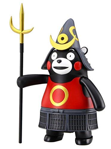 フジミ模型 くまモンのシリーズ No.2 くまモンのプラモ 鎧兜バージョン ノンスケール 色分け済み プラモデル くまモン2