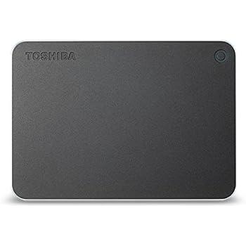 TOSHIBA CANVIO PREMIUM ポータブルハードディスク 3TB USB3.0接続 ダークグレーメタリック HD-MB30TY