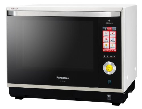 Panasonic ビストロ×ECONAVI×パナソニックスマート スチームオーブンレンジ 30L ホワイト NE-BS1100-W