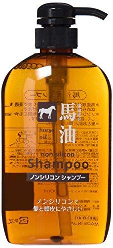 熊野油脂 馬油シャンプー 600ml