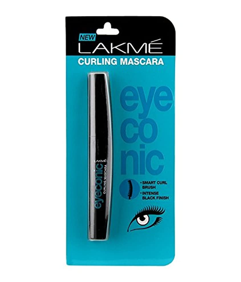バン立証する最初はLakme Eyeconic Curling Mascara 9 ml
