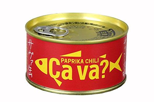 [3缶] 国産サバのパプリカチリソース味 170g