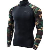 (テスラ)TESLA メンズ 長袖 ハイネック スポーツシャツ [UVカット・吸汗速乾] MUT