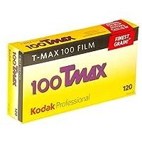 Kodak 857 2273 プロフェッショナル 100Tmax 白黒ネガフィルム 120 (ISO 100) 5ロールパック 2 Pack