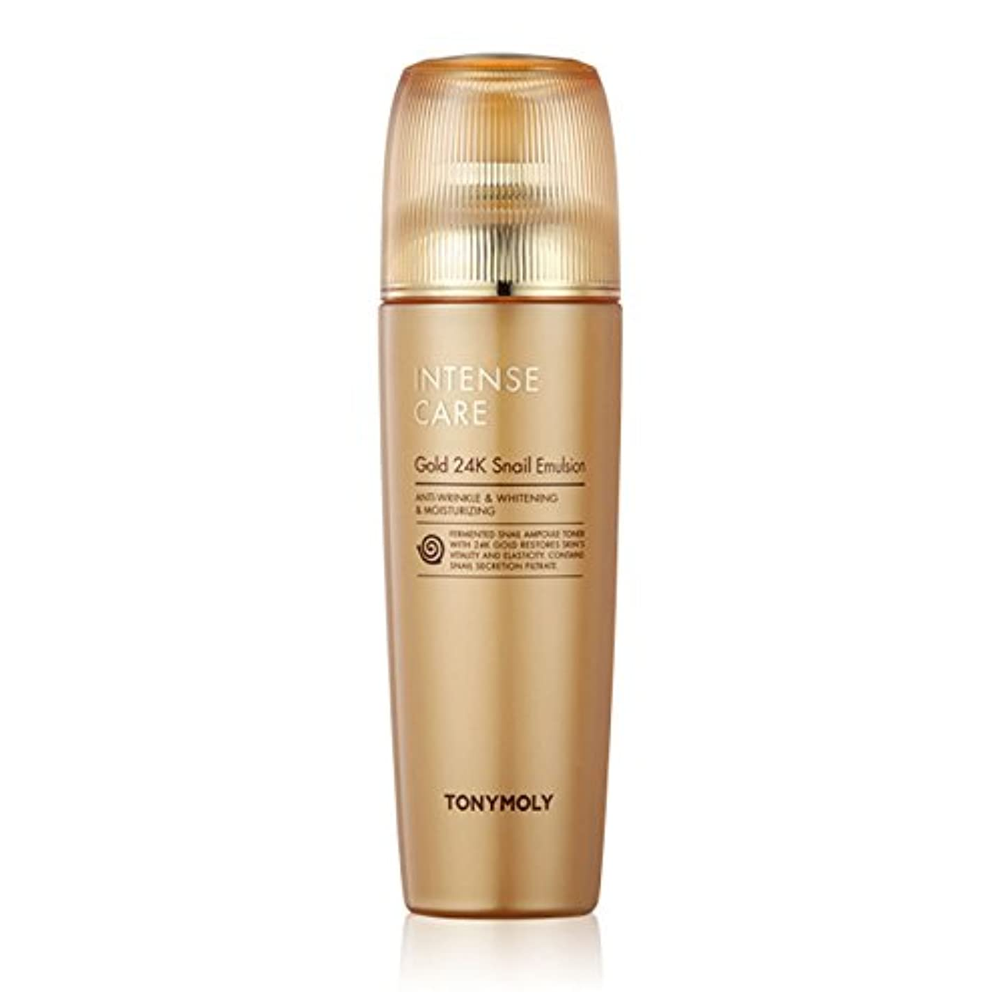 失業者旧正月厳TONYMOLY Intense Care Gold 24K Snail Emulsion 140ml