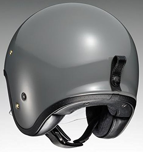 ショウエイ(SHOEI) バイクヘルメット ジェットJ・O ラットグレー M(57cm)