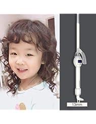 超極細ロールカーラー、スモールホワイト、ショートヘア、ロングヘア、ヘア製品に最適,13mm