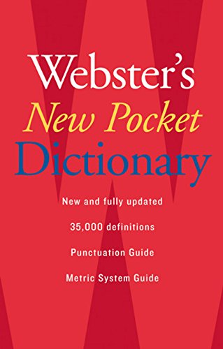 Download Webster's New Pocket Dictionary 0618947264