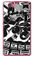 SECOND SKIN オールドスクール (クリア) / for Xperia Z1 f SO-02F/docomo DSO02F-PCCL-299-Y254