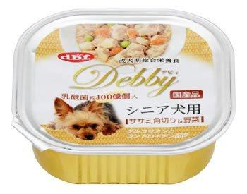 デビフ デビィ シニア犬用 ササミ角り&野菜 100g