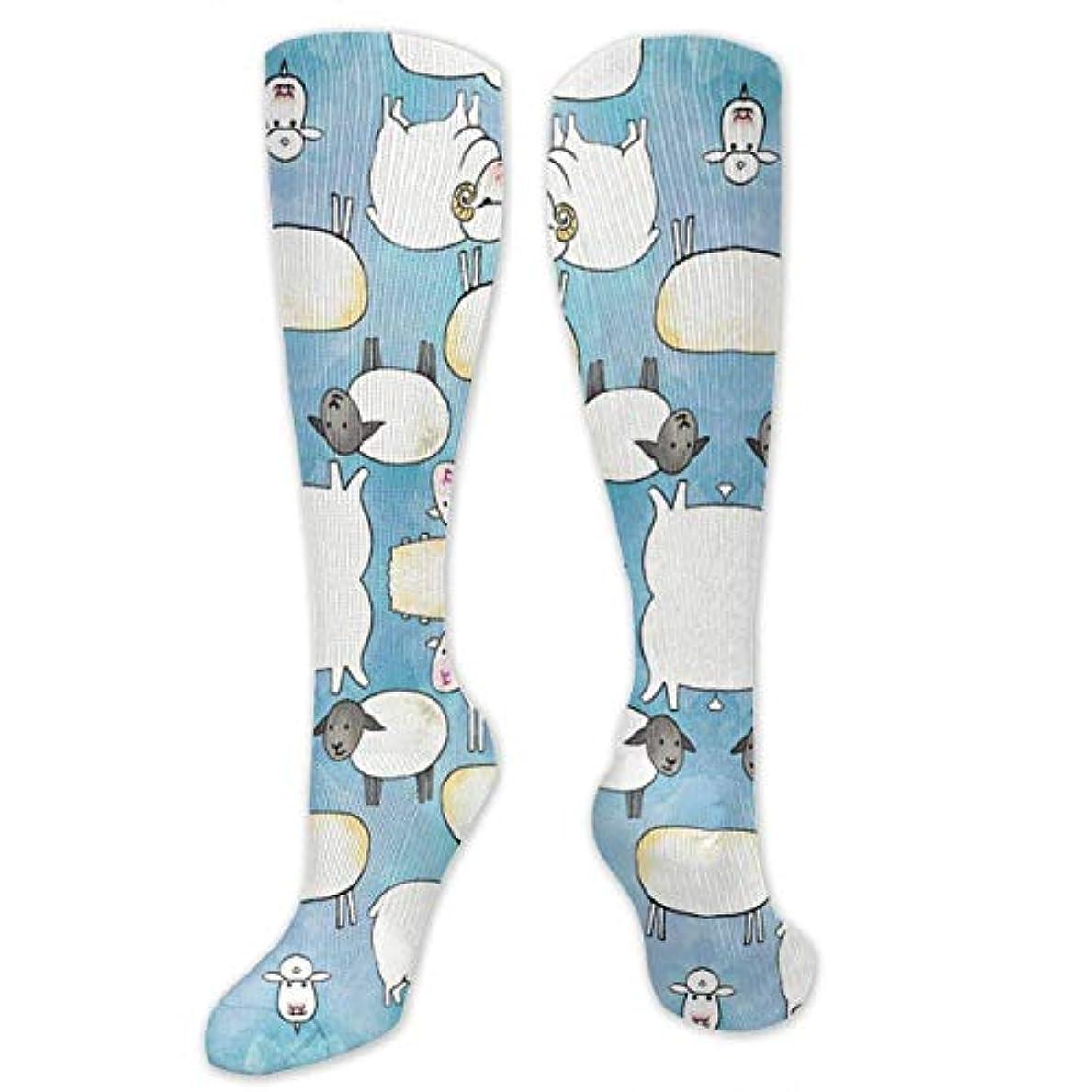 アピールワーディアンケースペルソナ靴下,ストッキング,野生のジョーカー,実際,秋の本質,冬必須,サマーウェア&RBXAA Sheep Dreams Socks Women's Winter Cotton Long Tube Socks Cotton Solid...