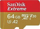 SanDisk ( サンディスク ) 64GB Extreme microSDXC SDSQXA2-064G-GN6MA [ 海外パッケージ ]