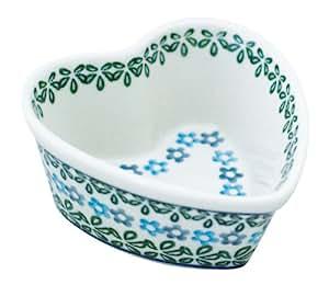 Ceramika Artystyczna ハート ココット NO.802