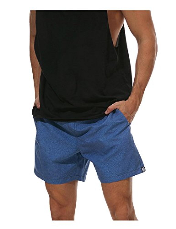 ビエスディディ ショートパンツ ビーチウェア 海パン 防水 プリント ストレート型 メンズ