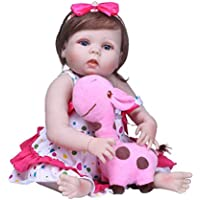 D DOLITY 赤ちゃんお世話セット リボーンドール 女の子 スリングスカート付き 22インチ