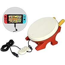 太鼓ゲーム 専用コントローラー 連動太鼓とバチセット 日本語説明書付き