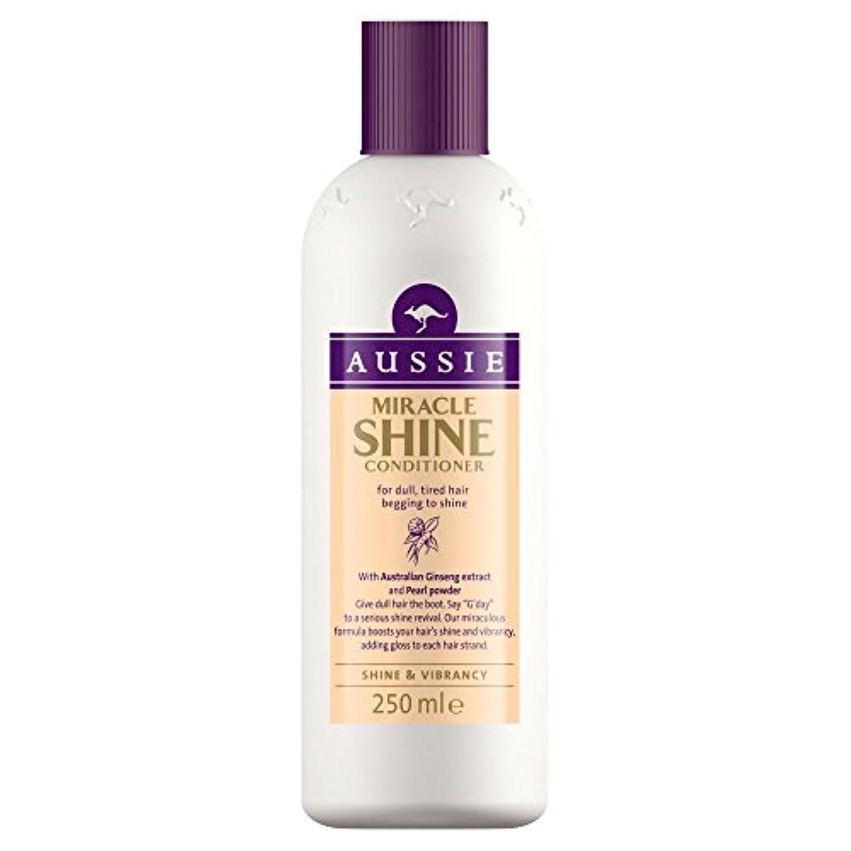 バイオレットマーティフィールディングに応じてAussie Miracle Shine Conditioner (250ml) オージー奇跡のシャインコンディショナー( 250ミリリットル) [並行輸入品]