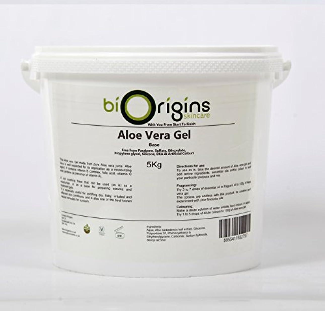 にぎやか環境保護主義者包帯Aloe Vera Gel Skincare Base 5Kg