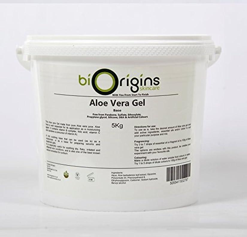 土曜日創始者つま先Aloe Vera Gel Skincare Base 5Kg