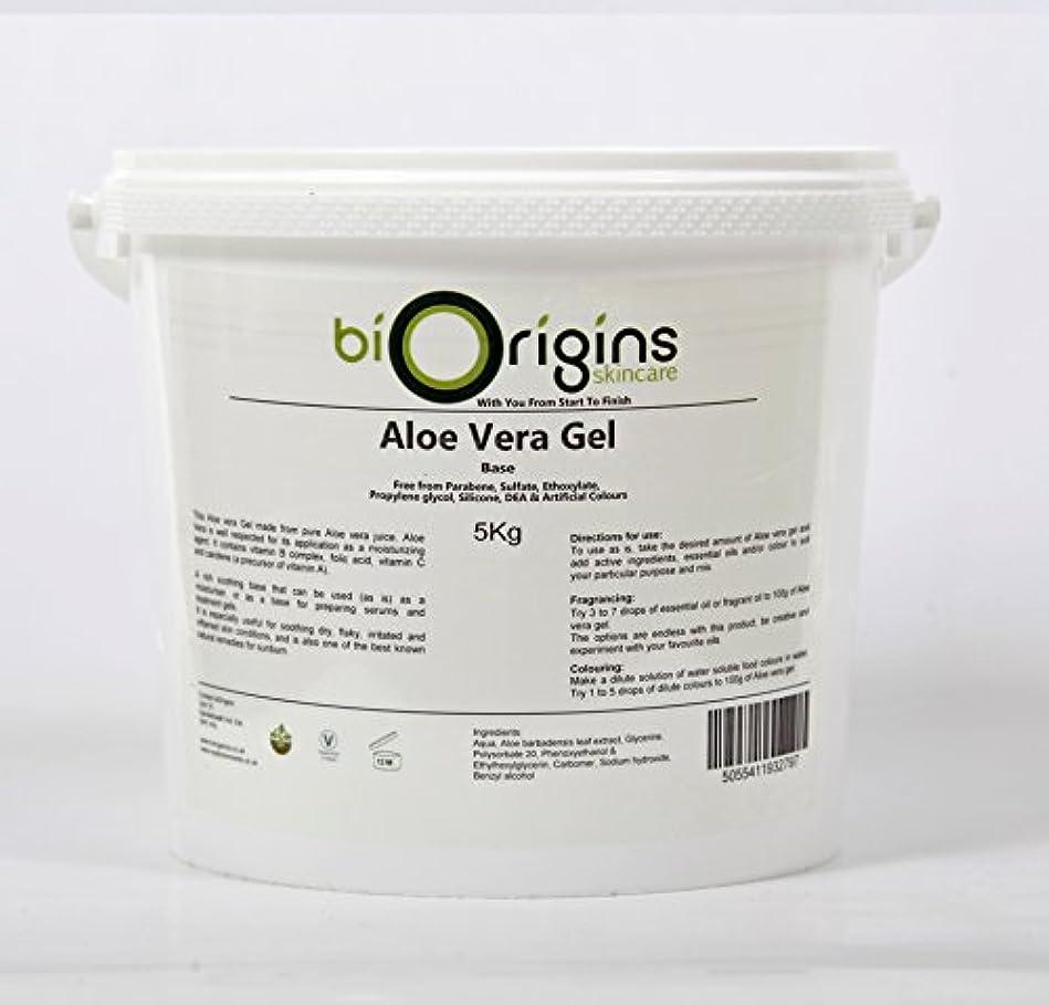 肌ブラシ刑務所Aloe Vera Gel Skincare Base 5Kg