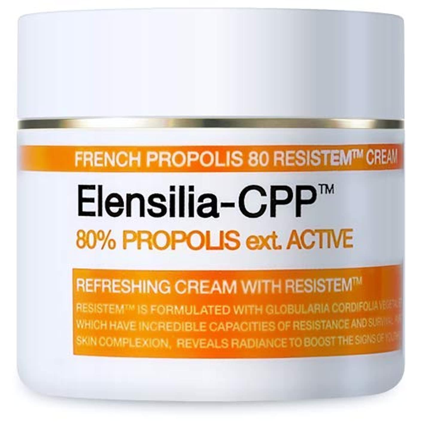 先のことを考えるバッチパースElensilia CPP フレンチ プロポリス 80 リシステム クリーム / CPP French Propolis 80 Resistem Cream (50g) [並行輸入品]
