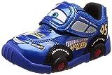 [ディズニー] 運動靴 通学履き カーズ マジック ゆったり 2E キッズ DN C1200 ブルー 17 cm