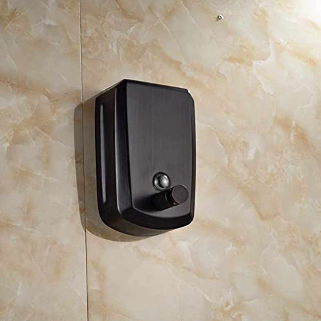 プレゼンターしたがってフォーマルLUDSUY Oil Rubbed Bronze 800ml Bathroom Soap Dispenser Liquid Soap Pump Lotion DispenserBathroom accessories