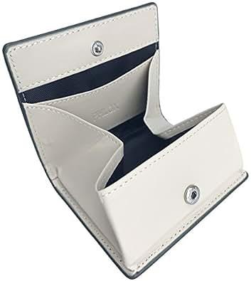 [フロックス] 財布 小銭入れ ボタン式 ボックス型 本革 メンズ グリーン