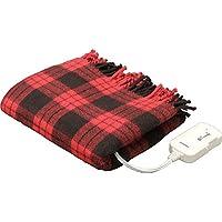アイリスオーヤマ 電気毛布 ブランケット 室温センサー搭載 60×120cm EBK-1206-ZR