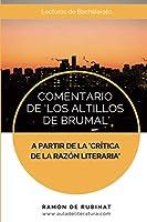Comentario de Los Altillos de Brumal a partir de la Crítica de la Razón Literaria
