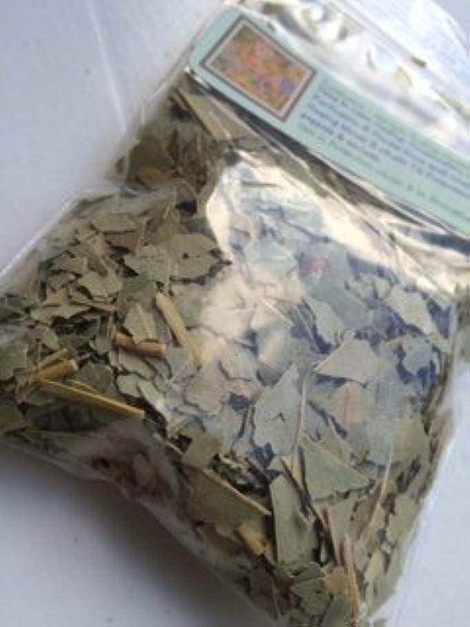 毒タイトルリングバックDried Herb ~ 1 oz ~ユーカリカットリーフ~ Ravenz Roost Dried Herbs with special Info Onラベル
