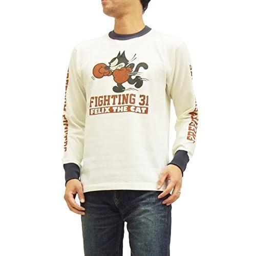 (トイズマッコイ) TOYS McCOY 長袖Tシャツ TMC1557 フィリックス・ザ・キャット felix the cat オフ白 (L)