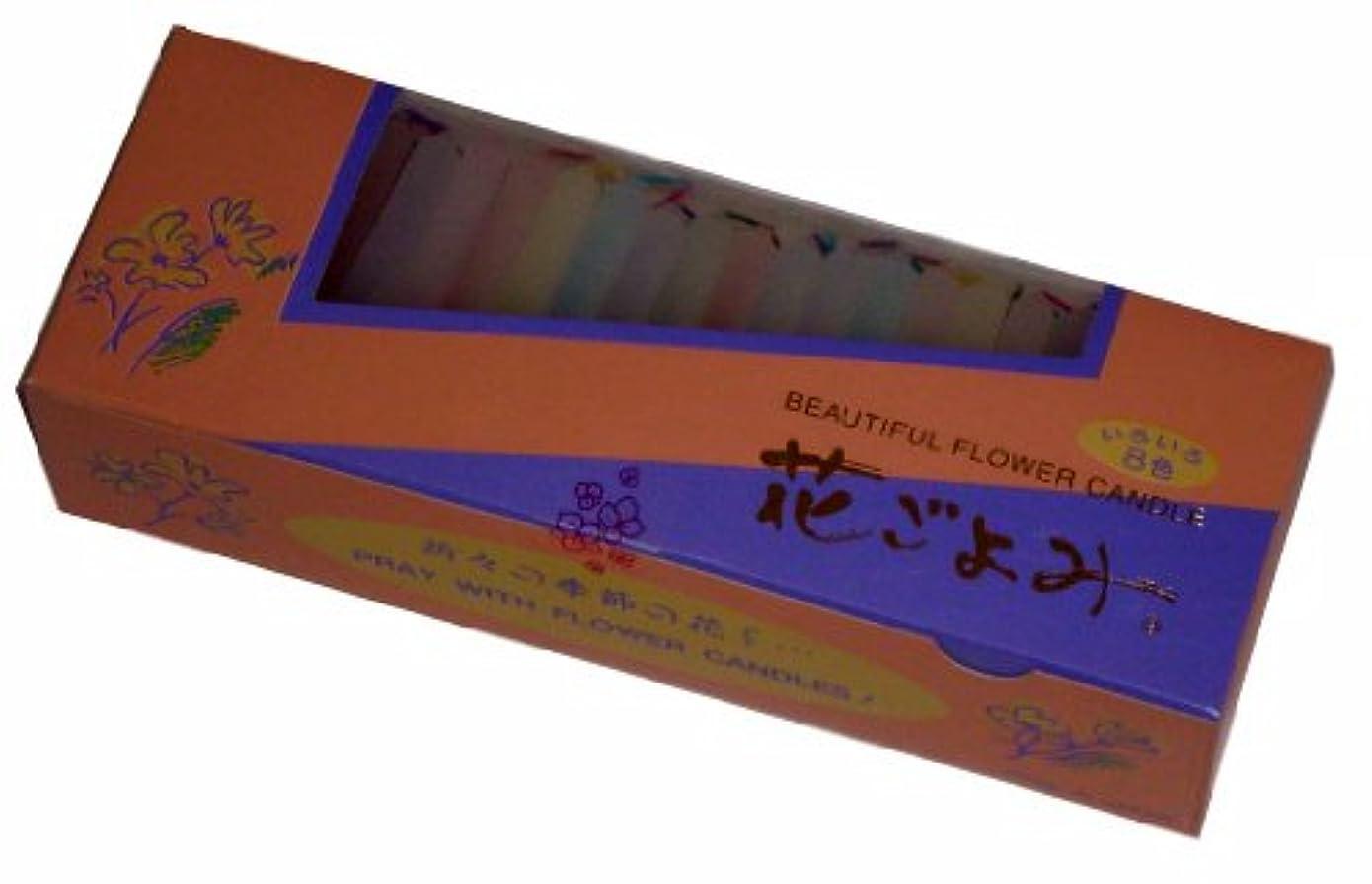 近代化する改修するカルシウム東海製蝋のろうそく 花ごよみ 20分