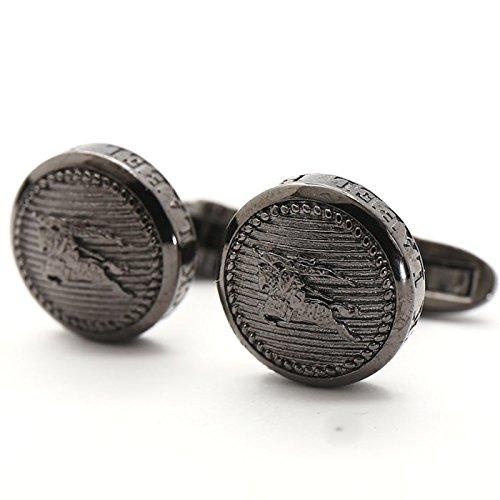 バーバリーブラックレーベル カフス 16632 / グレー系
