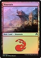 英語版フォイル マジック・オリジン Magic Origins ORI 山 Mountain (#265) マジック・ザ・ギャザリング mtg