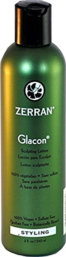 事前偽静かにZerran Glacon Sculpturing Lotion - 8 oz by Zerran