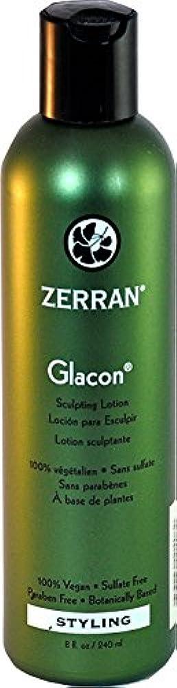 災害津波男らしいZerran Glacon Sculpturing Lotion - 8 oz by Zerran