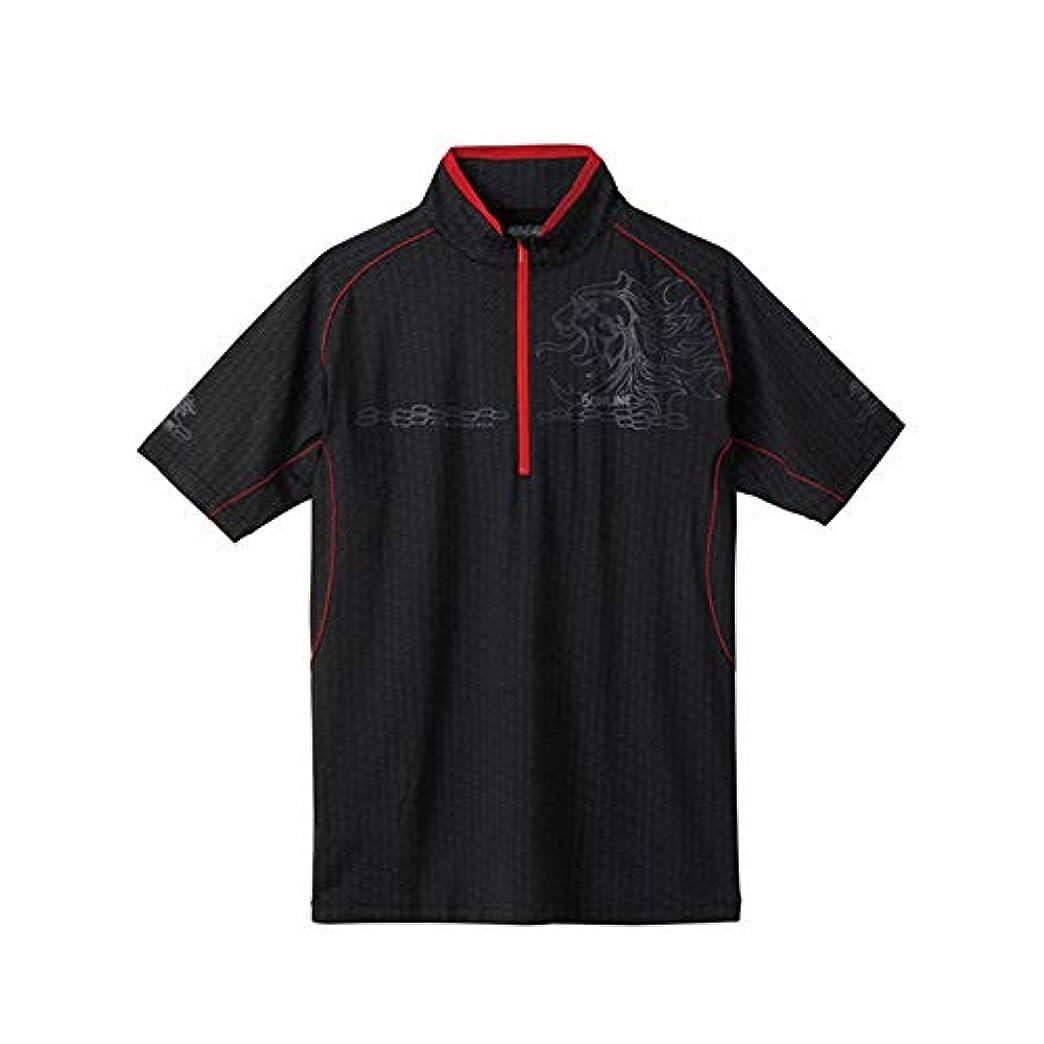 スリチンモイ枯れる天井サンライン(SUNLINE) TERAX COOL DRY シャツ(半袖) L SUW-5571CW ブラック