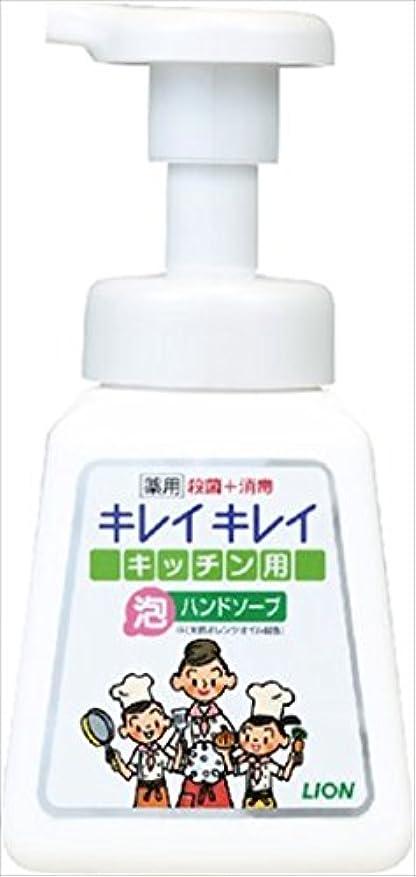 洗剤攻撃的小さなキレイキレイ薬用キッチン泡ハンドソープ 本体 230ml × 5個セット