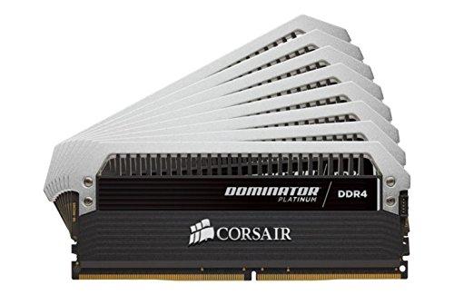 CORSAIR DDR4 メモリモジュール DOMINATOR PLATINUM Series 16GB×8枚キット CMD128GX4M8A2400C14
