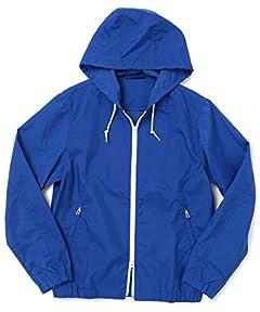 Packable Nylon Parka 51-18-0143-012: Blue