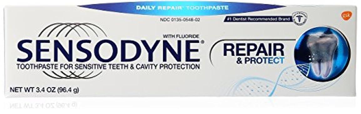 にもかかわらず序文十億海外直送品Sensodyne Repair and Protect Pronamel Toothpaste, 3.4 oz by Sensodyne
