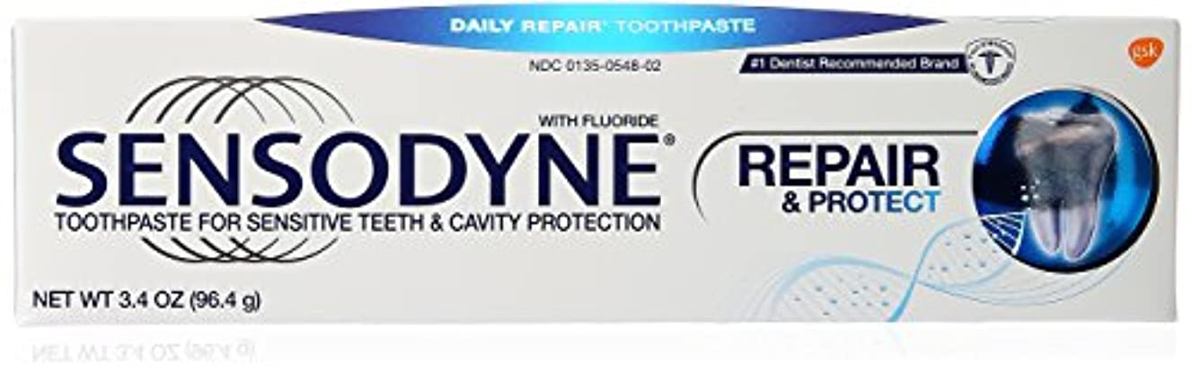 悲しみ形容詞急ぐ海外直送品Sensodyne Repair and Protect Pronamel Toothpaste, 3.4 oz by Sensodyne